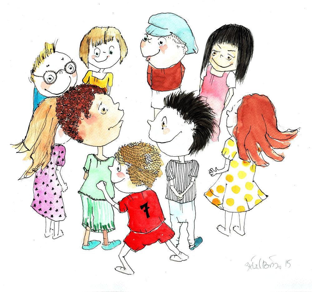 illustration til Silkeborg sundhedspleje