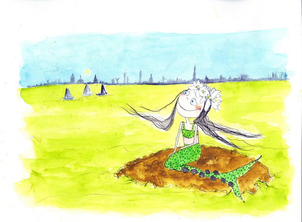 illustration til Hans Christian Andersen - de mest elskede eventyr