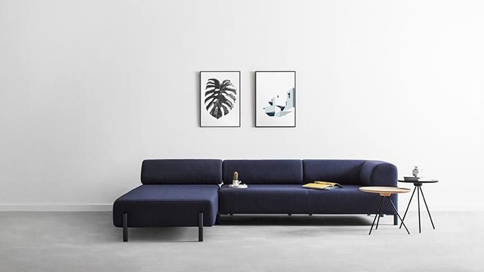 Hem palo corner sofa