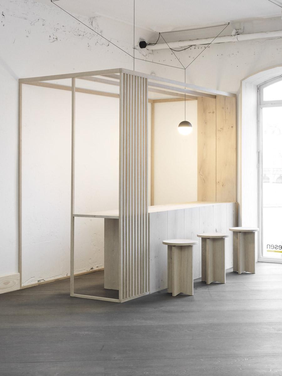 Dinesen showroom - Søtorvet 5 - OeO Designstudio 45