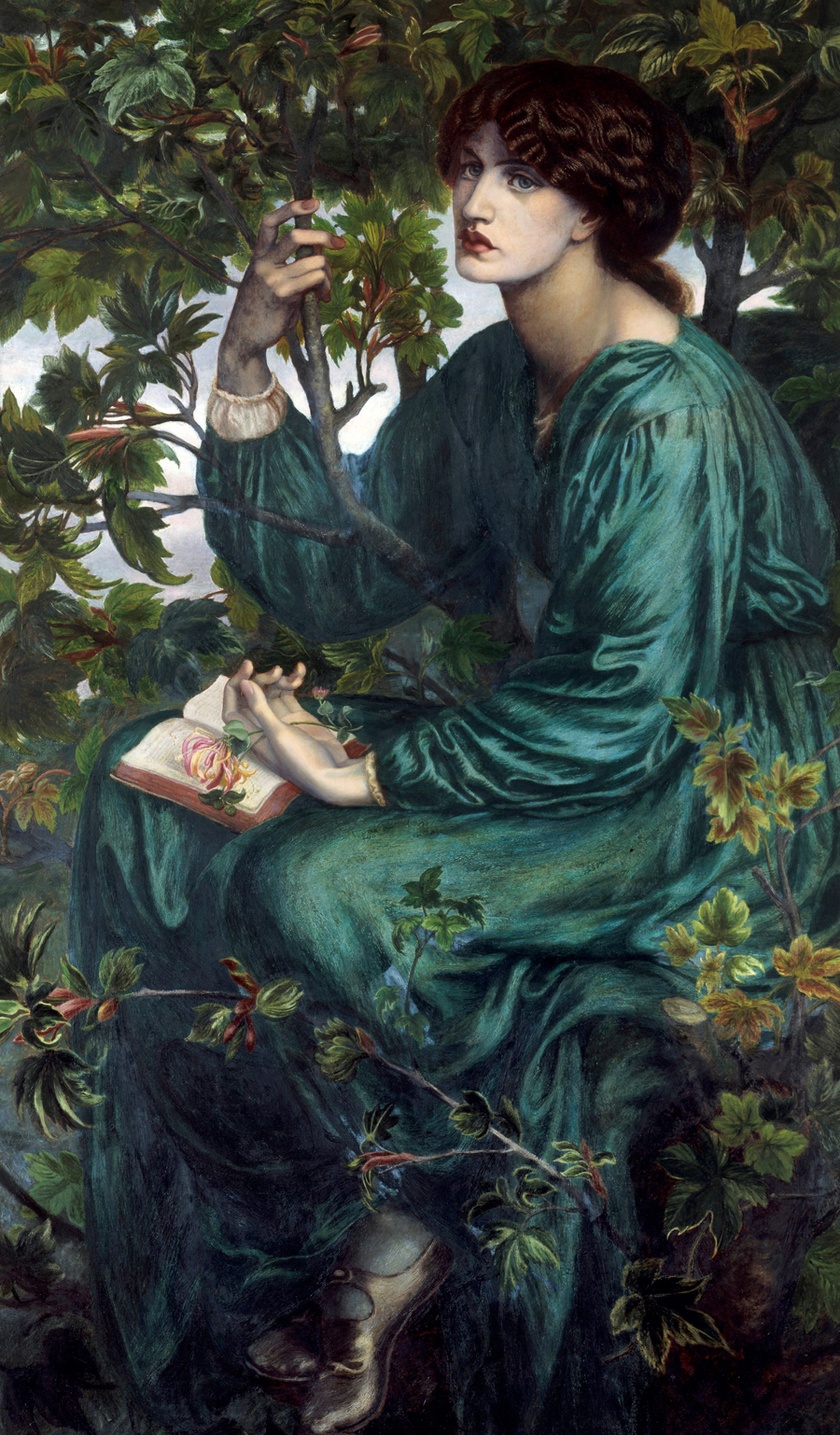 Dante_Gabriel_Rossetti_-_The_Day_Dream_-_Google_Art_Project (1)