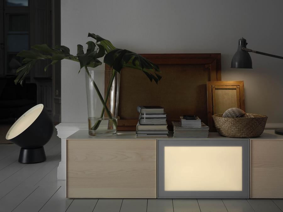 90356675 SURTE LED light door with wireless control 60x38 white spectrum