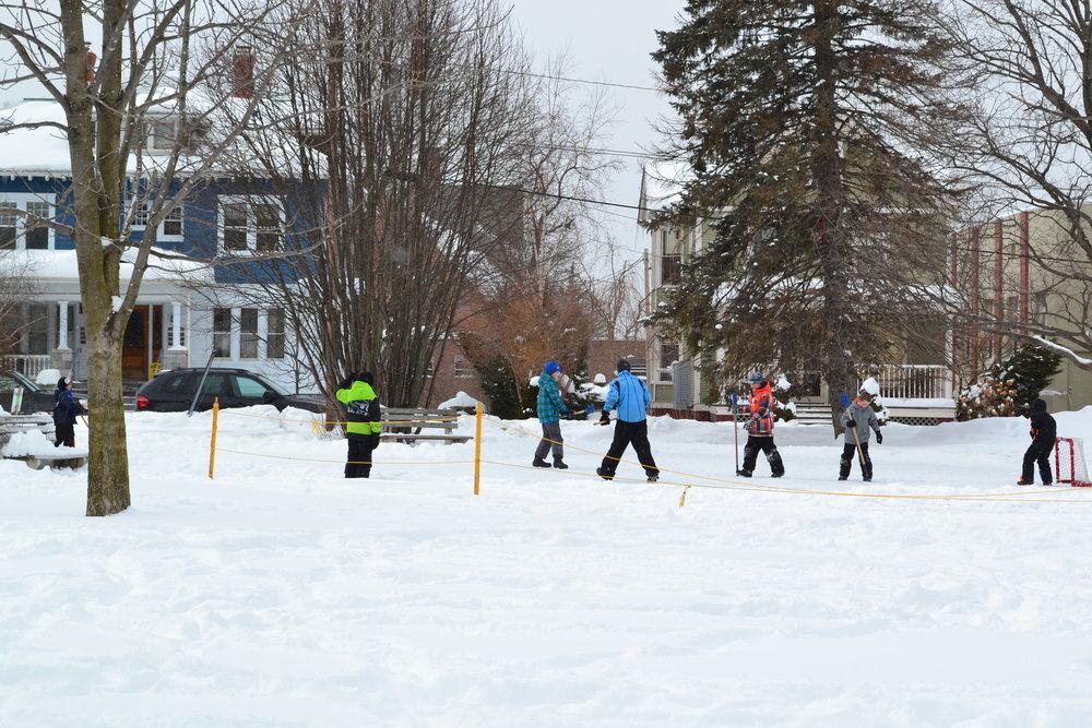 Rutland Winter Fest Broom Ball