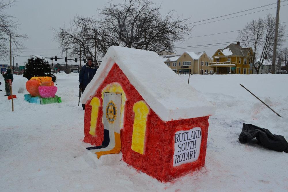 Rutland Winter Fest Rotary South School house