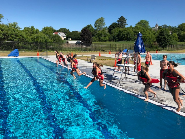 AQUATICS - White Memorial Park Pool will open mid June 2019 and offer Swim Lessons, Swim Team, Lap Swimming and Opening Swimming.