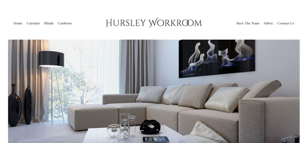 Hursley Workroom - Hursley Workroom had a website that didn't look or work in the way the business wanted. We built a new site that is modern and very user friendly.