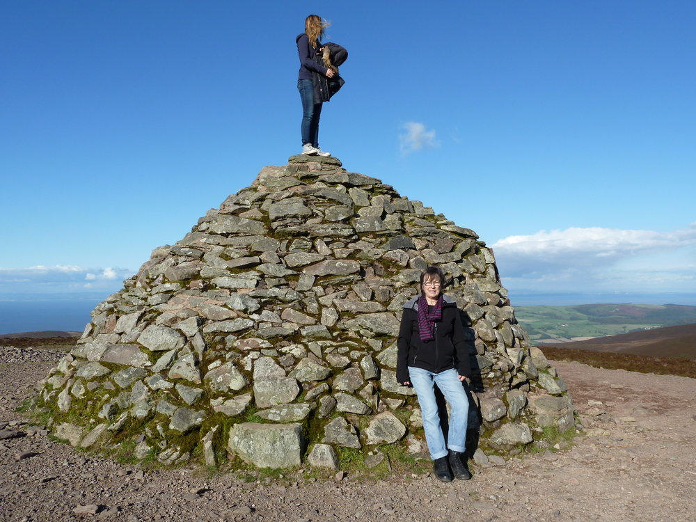 Dunkery Beacon is the high point on Exmoor.