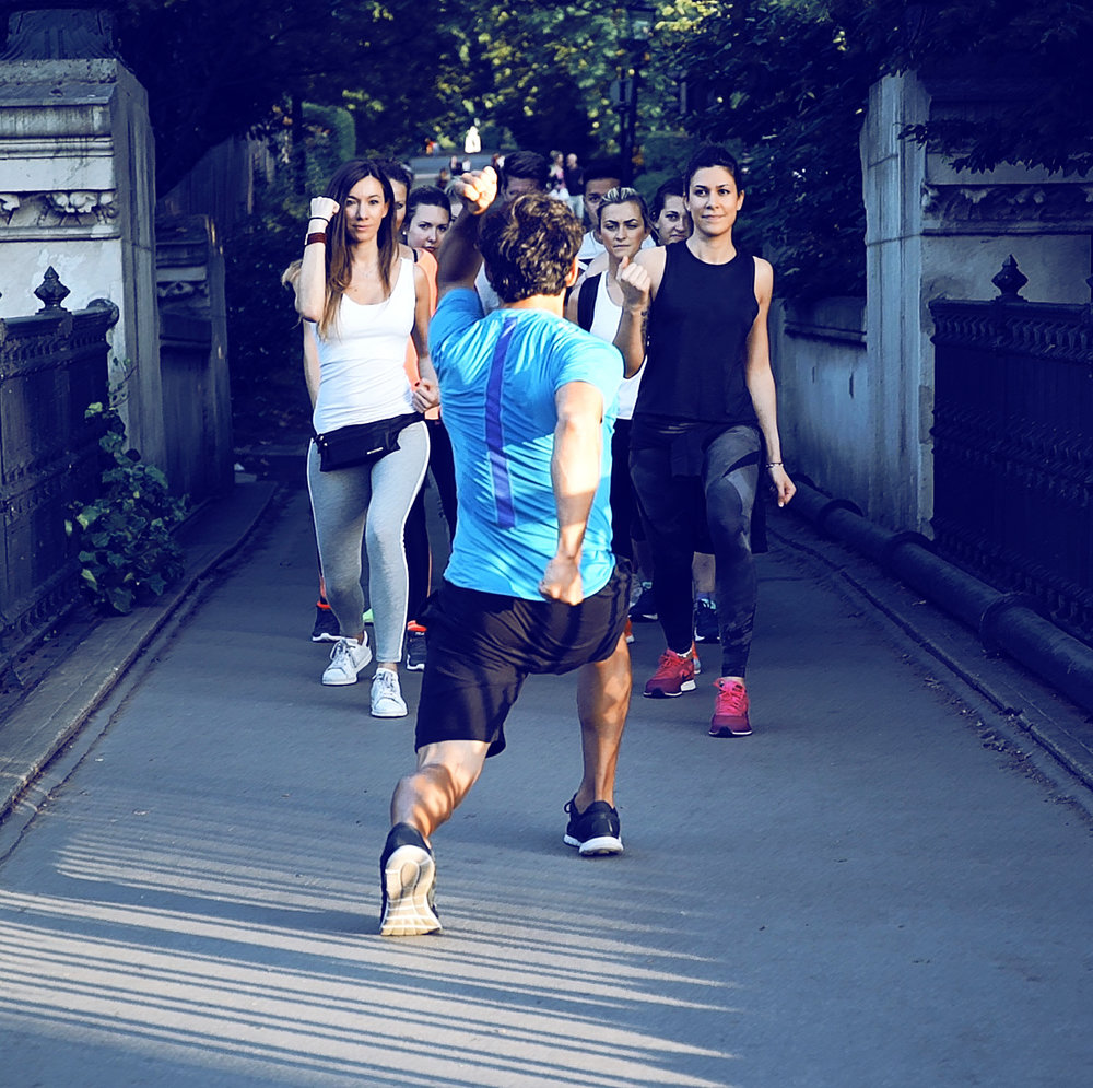 CORPORATE FITNESS TOURS -