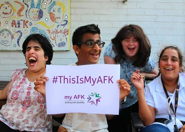 My AFK raises funds for teenagers and young adults with special educational needs and help them get the job and the independence they deserve.