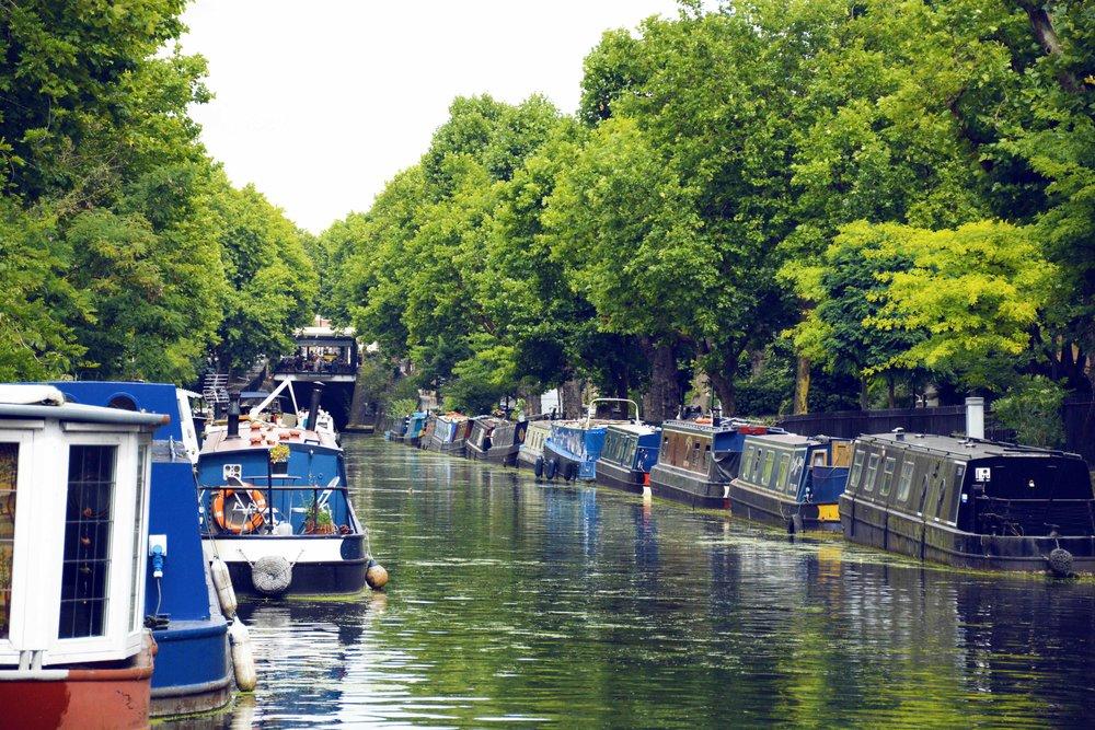 REGENT'S CANAL AND LITTLE VENICE WALKING TOUR -