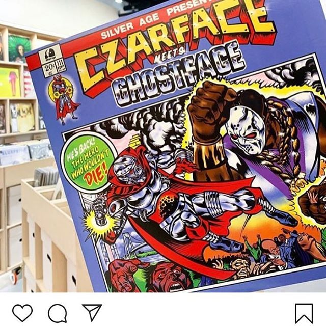 Salute @czarface_eso and @realghostfacekillah on this new album!!! Support the artists and cop their releases!!! Salute from 4 Elements Radio... the only station representing Underground & Boom Bap Hip Hop!!! Download the free '4 ELEMENTS RADIO APP' in the App Store/Google Play or listen via TUNEIN or any other internet radio streamer... #4ElementsRadio | #RealHipHop | #BoomBap | #UndergroundHipHop | #HipHopRadio | #InternetRadio | #4ElementsOfHipHop | #GrownManHipHop | #BoomBapHipHop | #OnlineRadio | #NoMumbleRap | #StrictlyBoomBap
