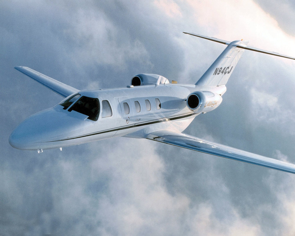 Citation M2 - Cabin Length: 11'0Cabin Width: 4'10Cabin Height: 4'9Take off distance: 3,210 ft.Landing distance: 2,590 ft.Range: 1,550 nmMaximum cruise speed: 404ktasSeating: 5