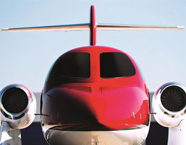 Honda Jet - Cabin Length: 17'8Cabin Width: 5'Cabin Height: 4'8Take off distance: 4,000 ft.Landing distance: 3,000 ft.Range: 1,180 nmMaximum cruise speed:420 ktasSeating: 5