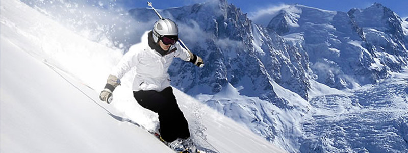 Private jet to the Swiss Alps for the ultimate ski experience.