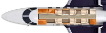 Phenom 300 Interior Private Jet Layout