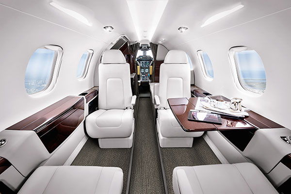 Use your Air Partner JetCard to fly on a Phenom 300.