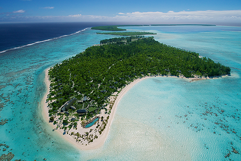 The Brando, French Polynesia - For breathtaking white sandy beaches and sparkling turquoise lagoon, look no further. The Brando is a unique resort on French Polynesia's beautiful atoll of Tetiaroa. It's the only true all-inclusive luxury resort found within the islands of Tahiti, and what's more, it's eco friendly, being almost completely carbon neutral.