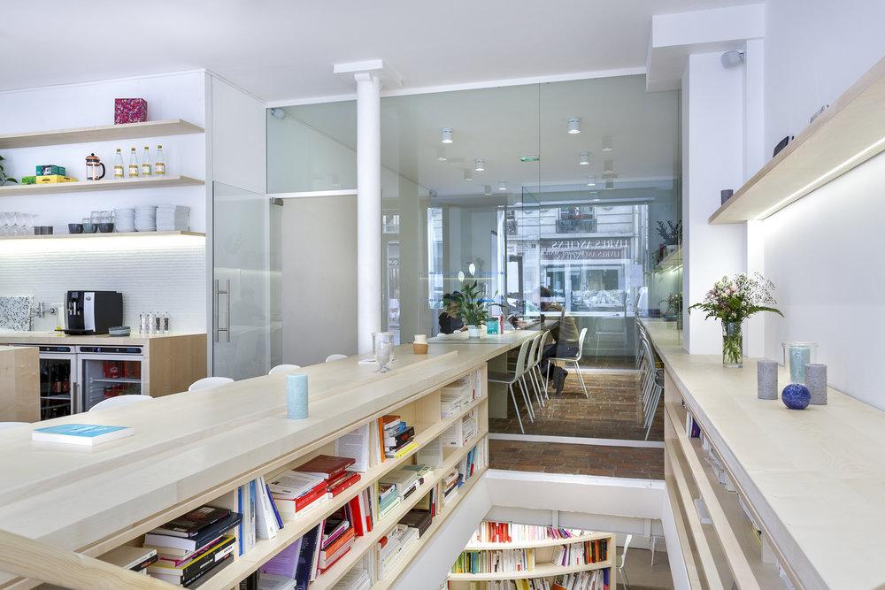 LES MOTS  I Marc Dujon Architecture  Agencement et mobilier sur-mesure
