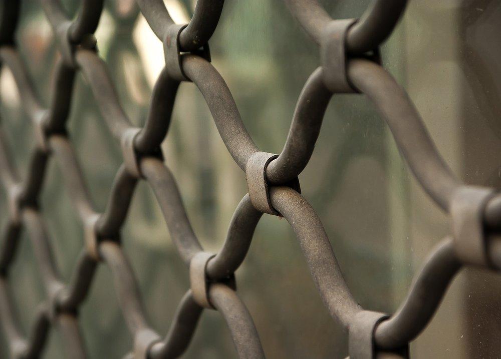 Photo de rideaux métalliques sur-mesure