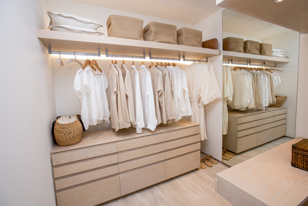Photo d'un dressing sur-mesure