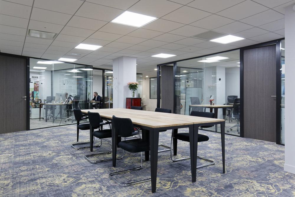 Mobilier bureau professionnel coworking startway u hopfab pro