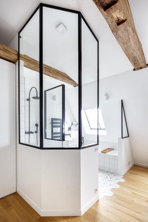 Verrière de salle de bain - Premices & co — Hopfab Pro