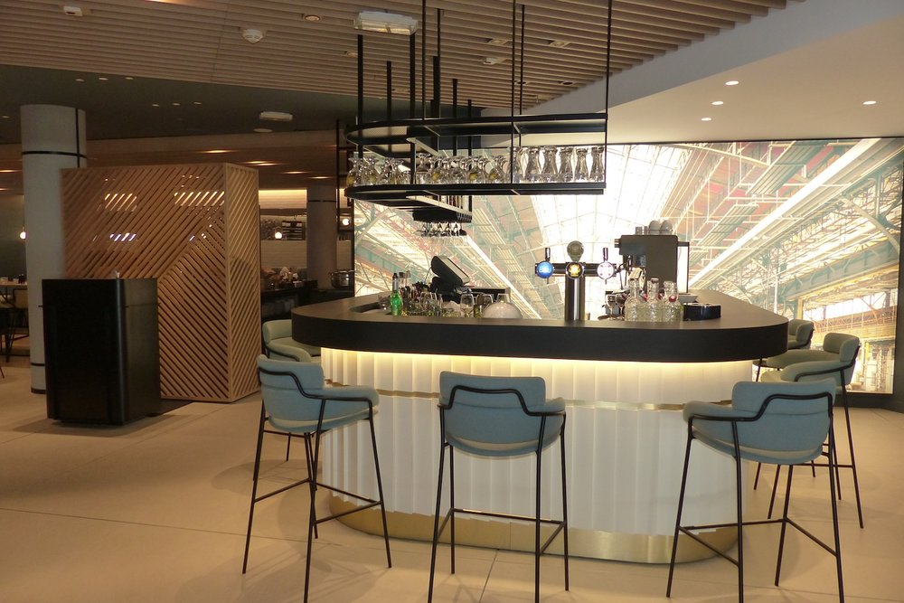 MARRIOTT ARCUEIL   Agencement du bar