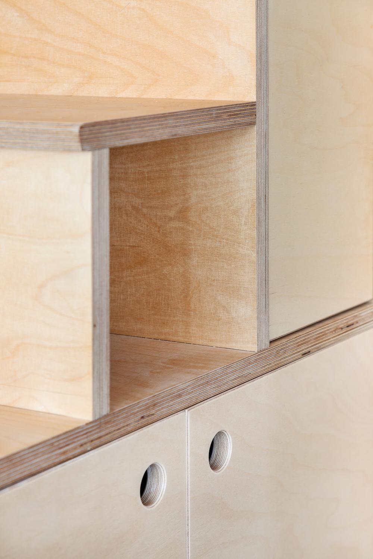 Aménagement petite surface cube multifonction artisan qualité Hopfab