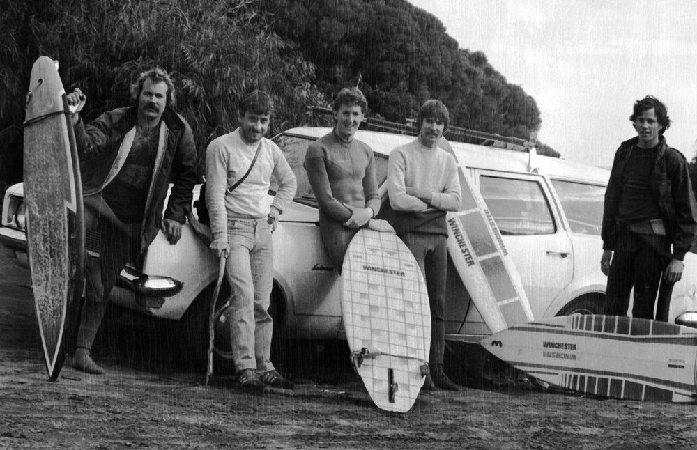 1981 Indjidup Point carpark surfboard restoration.jpg