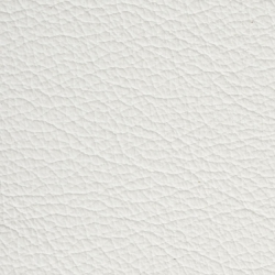 white leather / cuir blanc 7699