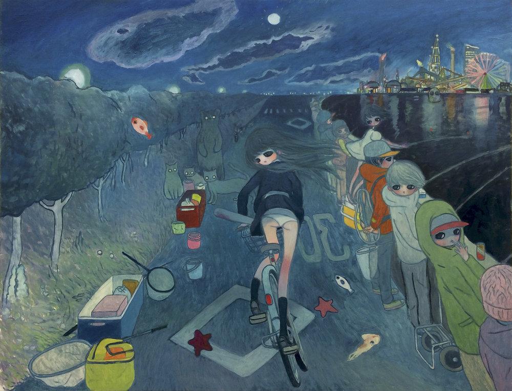 Aya Takano - Etoile montante de l'art japonais, Aya Takano peint et dépeint les angoissesd'une génération à travers son coup de pinceau et ses traits d'esprit.