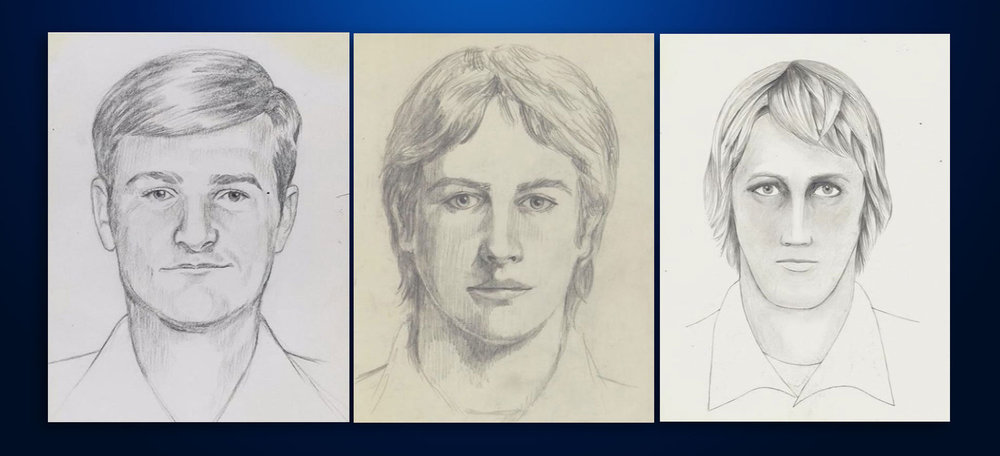 Sketches from some of the victims of the GSK