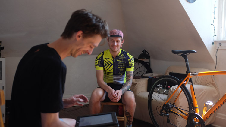 The Interview - Everyone has different reason for getting fit and it is important to understand the relationship between rider and bicycle to understand this vision.   Through this process, I learn this vision and gain an idea of how best to support it.