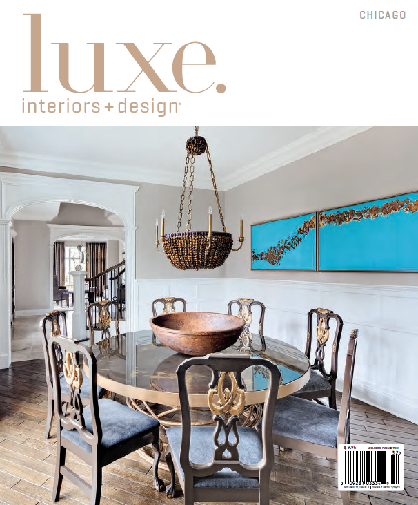 Luxe. Interiors+Design -
