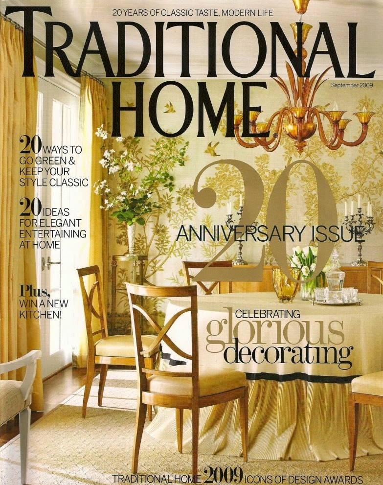 Traditional Home Magazine Interior Design Charlottesville Virginia Melanie
