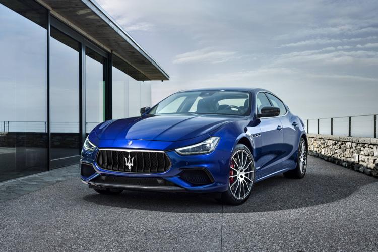 Una Maserati GranSport MY18. Maserati sta assistendo a un'impennata di richieste per il noleggio a lungo termine delle proprie vetture: solo in Italia nel 2015 registrava il 15% di entrata ordini, oggi è a quasi il 30%