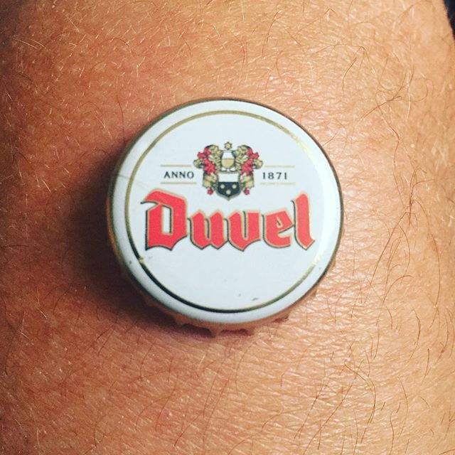 Day 4...We've gone a bit Belgian tonight, are there any good French beers? #7beersin7days #duvel #belgium #holidaybeer #northberwick