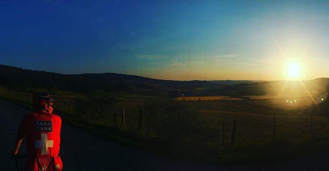 Looking towards Glenkindie on last nights ride with @pellington76 #griptours #visitabdn #visitabdnshire