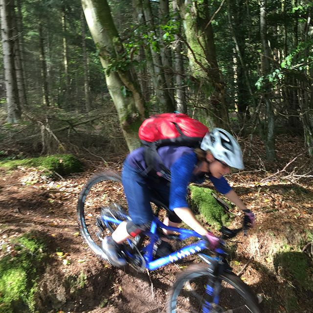 And the kids were not the only ones who had fun today at Drumtochty #dtcc #visitabdnshire #mtb #coaching