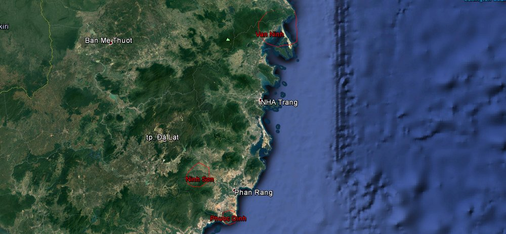 - Team: An Nguyen (IZW field coordinator, GWC associated biologist), Minh Nguyen (Southern Institute of Ecology), Dao Vo (Master student at HCMC University of Science) and Phuoc Tran (Student at HCMC University of Science)Study site: The team conducted interview surveys at three study sites: Ninh Sơn district, Ninh Thuan province; Phuoc Dinh district, Ninh Thuan province; Van Ninh district, Khanh Hoa provice
