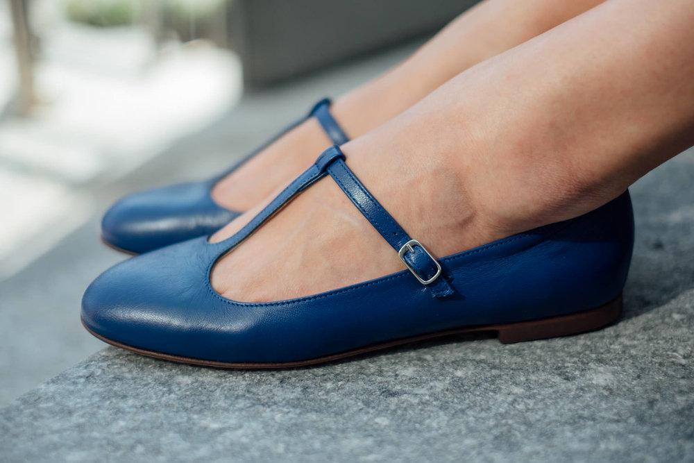Babette scarpa ballerina pelle t-bar Made in Italy (25).jpg
