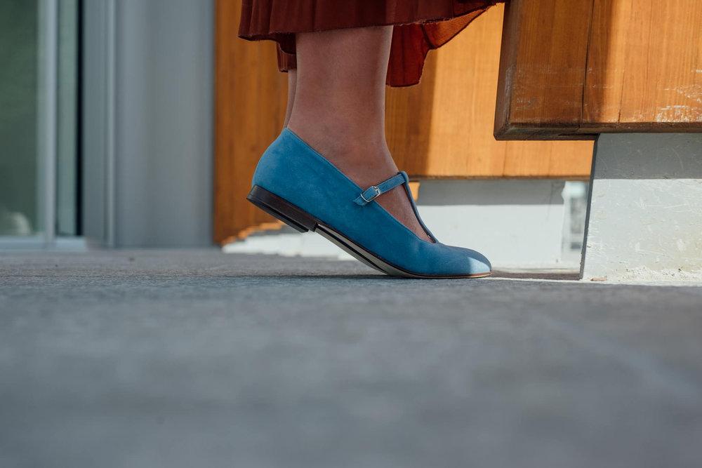 Babette scarpa ballerina pelle t-bar Made in Italy (18).jpg