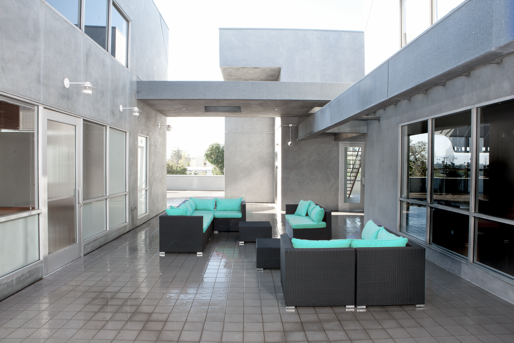 Aesthesia Studios Terrace Lounge Space Filming Commercial Area Rent