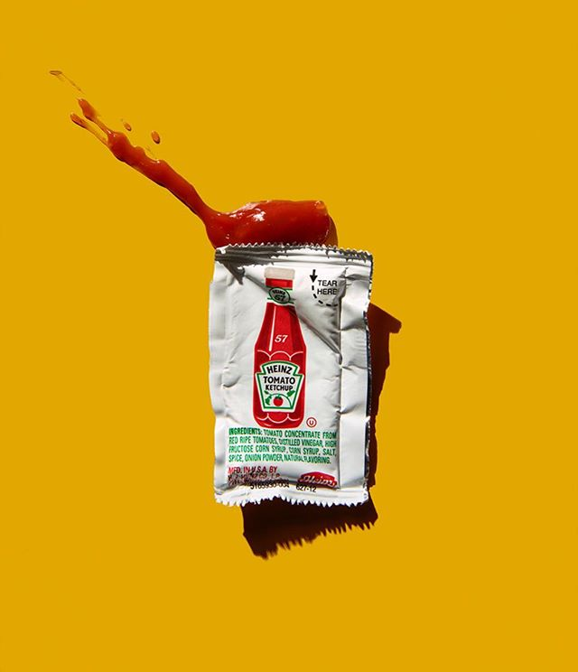 Really into this still life work by @adamvoorhes / @finlayrobin of @candacegelmanassociates. . . . #ketchup #stilllife #editorialshoot #editorials #editorialphotography #photography #photo #photography #photoftheday #photooftoday  #color #whitehouse #politics #socialcommentary #smart #adagency #advertisement #ad #advertisement #vorhees #workbook #beauty #lightening #yellow #heinz #heinzketchup