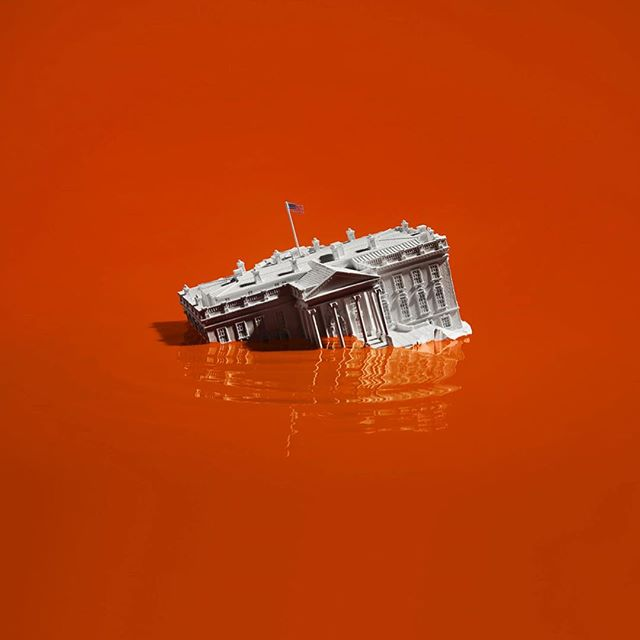 Love the social commentary in this still life work by @adamvoorhes / @finlayrobin of @candacegelmanassociates. . . . #water #stilllife #editorialshoot #editorials #editorialphotography #photography #photo #photography #photoftheday #photooftoday #orange #color #whitehouse #politics #socialcommentary #smart #adagency #advertisement #ad #advertisement #vorhees #workbook #beauty