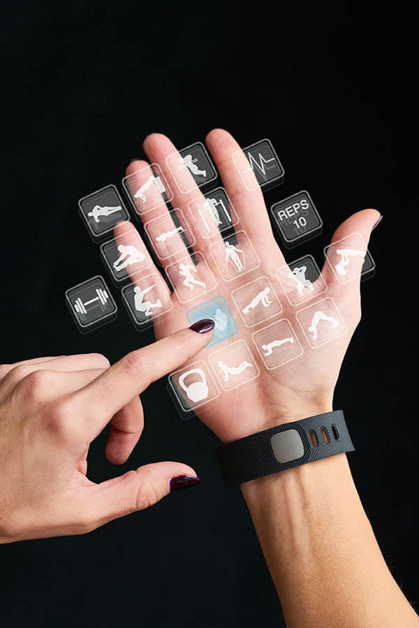 Wearable Devices Stream MI Data
