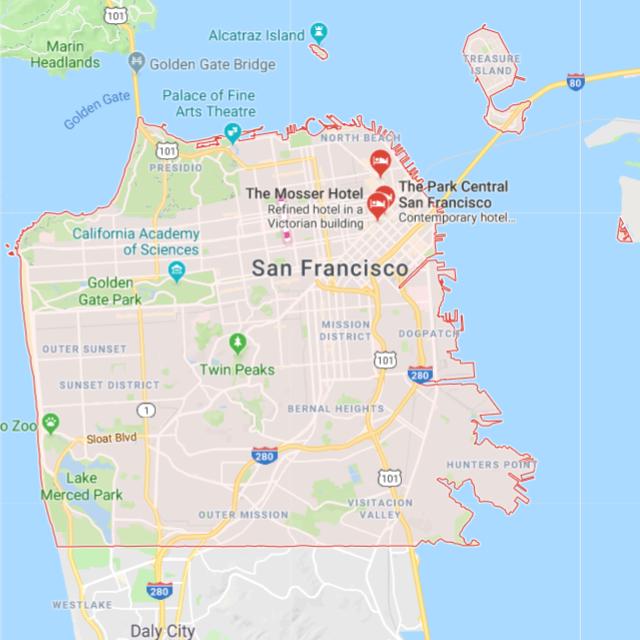 San Francisco County   Northern California