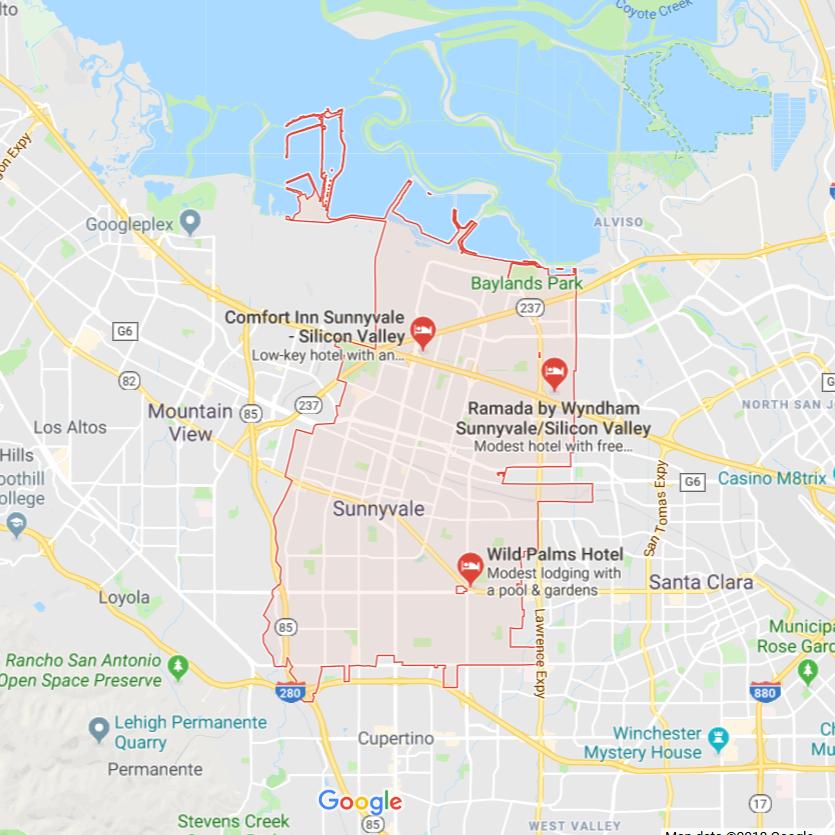 Milpitas City (pre78) Lead Paint Poison Location Predictive Data - Wave 1