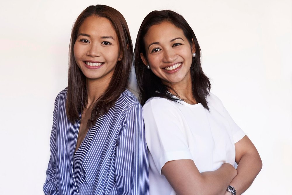 Rumpes Estacio-Miranda and Kat Pesigan of kubo