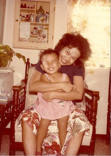 Bianca and Mom in the 80s © Bianca Garcia